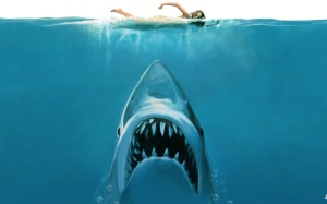 Jaws movie poster concept