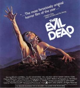 Poster art for Evil Dead