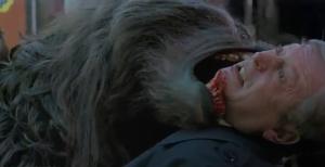 A werewolf attack