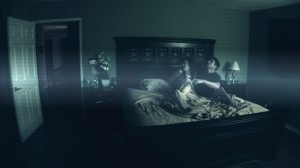 Scene from Paranormal Activity