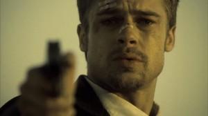 Brad Pitt from Seven