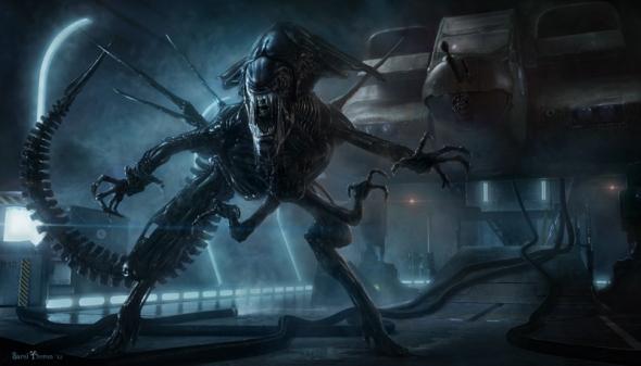 Awesome Alien Queen art