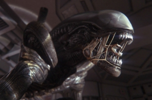 Awesome art on a xenomorph