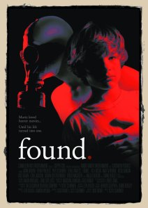 Poster art for the movie Found