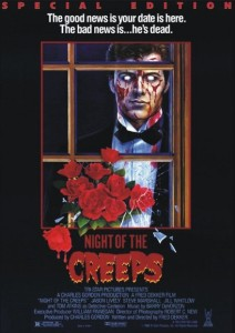 Poster art for Night of the Creeps