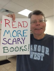 Read more scary books!